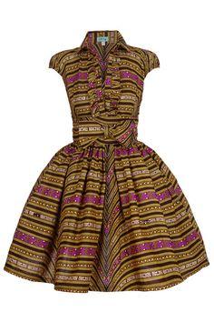 African print dress. #Africanfashion #AfricanClothing #Africanprints #Ethnicprints #Africangirls #africanTradition #BeautifulAfricanGirls #AfricanStyle #AfricanBeads #Gele #Kente #Ankara #Nigerianfashion #Ghanaianfashion #Kenyanfashion #Burundifashion #senegalesefashion #Swahilifashion DK