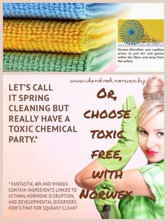 Spring Cleaning the Norwex Way.