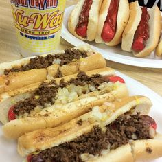 Hot dogs and chili on Pinterest | Hot Dog Recipes, Hot Dog Bar and Ho ...