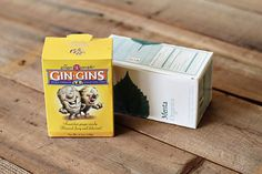 Gin-Gins: ginger candy