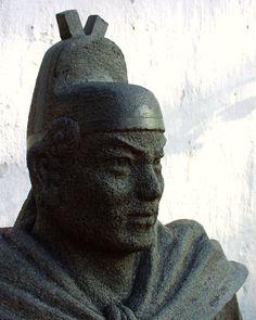 Bust of Admiral Zheng He.