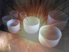 CRYSTAL SINGING BOWLS