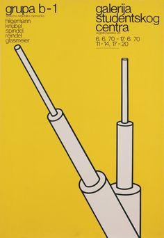 The Conceptual Posters of Boris Bucan (@ Design Observer)