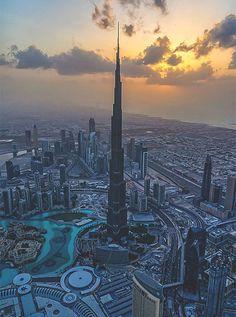 The Burj Khalifa In