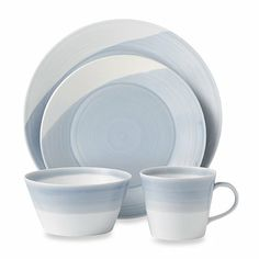Royal Doulton® 1815 16-Piece Dinnerware Set in Blue - BedBathandBeyond.com - maybe?