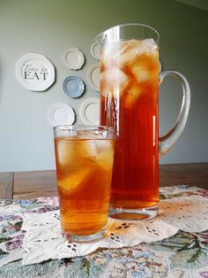Copycat Olive Garden Peach Tea Recipe