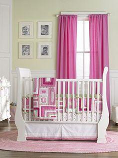 Decoração // Quarto para Bebê // Menina // Simples // Rosa // Lindo // ♥