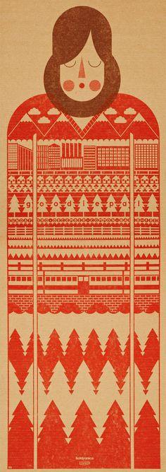 Rob Bailey  —  #vintage #illustrazione #basic #geometrico #grafica