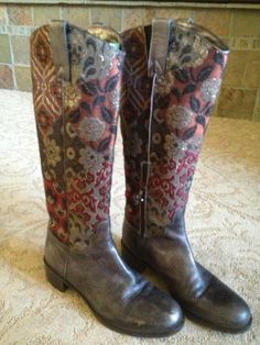 Donald J Pilner Southwest Inspired Fall Boots!  Great Colors