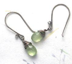 Earring wire tutorial