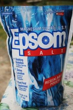 Epsom salt for tomatoes - put some in the hole when you plant and water some in periodically.