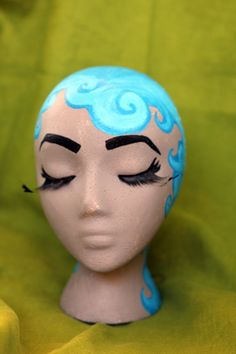 Mannequin Head Display by Desir33D on Etsy