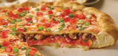 Papa Murphys ¨THE CHICAGO STYLE STUFFED¨ Pizza. Available in large and family size