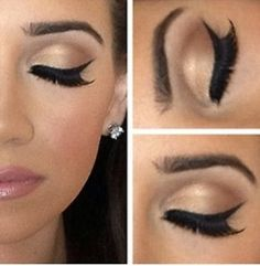 Natural and Soft Makeup with Lashes. <3