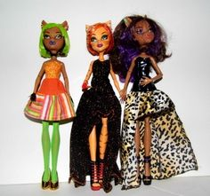NEW Pattern Sew Fabulous Outfits for Monster High Dolls Clothing NG Creations #2 | eBay