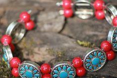 Berry Native Bangle by BirdsandBeeds on Etsy, $12.00- my own creations!