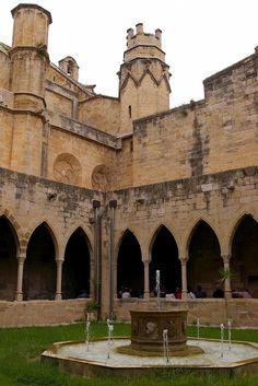 Claustro de la Catedral, Tortosa, Tarragona, Cataluña,