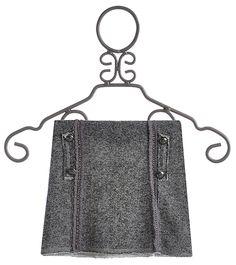 Hannah Banana Grey Mini Skirt for Tweens