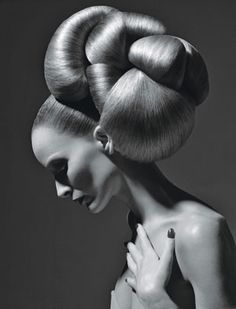 "meanwhile, in the insane asylum for hairdressers, the ""tumor updo"" was gaining popularity..."
