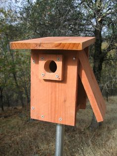 Alternative Bluebird Nest Box
