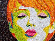 Uniche opere d'arte da parte Sandhi Schimmel Oro | Ispirazione Griglia | Ispirazione design