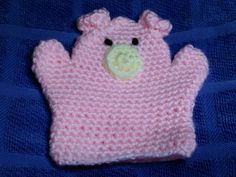 Piggy wash mitt
