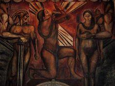 Jose Clemente Orozco - from casa de los azulejos