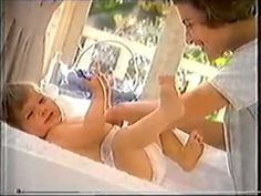 Pampers Disposable Diapers - The Wiggly Giggly Diaper Change - UK Version - Commercial - 1997 http://www.pampers.com/globalsplash
