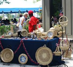 On June 1, 2013, the annual Sweetgrass Cultural Arts Festival at the Waterfront Memorial Park celebrated the Gullah Geechee heritage and showcased sweetgrass baskets in the Lowcountry area.  Make sure to come check it out next year!