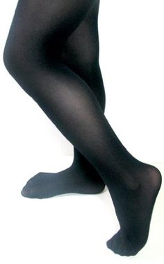 Butterfly Girls Ultrasoft Microfiber Hold & Stretch Footed Tights - More Colors Available (Sizes 2/4 - 12/14)
