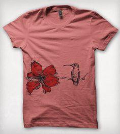 Flower for hummingbird tattoo