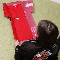 Perfect T-Shirt Folder Thinkgeek.com $24.99