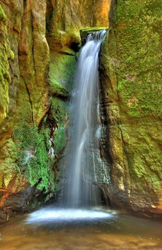 Adrspach Rock Waterfall, Czech Republic