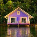 blue pueblo, purpl hous, lake houses, travel photos, dream