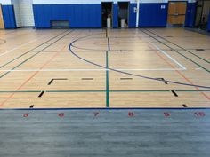 Omnisports 8.3 GreenLay installation in Maple and Grey Maple at PS91 BUILD Academy in Buffalo, NY. Completed late August 2013