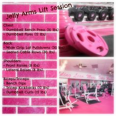 Arm workout...I want to go to a gym like this!!