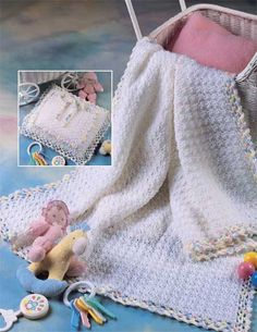 Baby Pocket Afghan » Crochet pattern