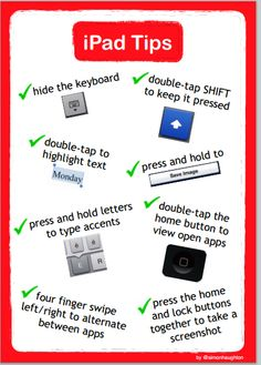 Great iPad Tips for Teachers