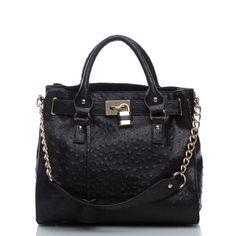 outfits, shoe dazzle, style, accessori, bellaros bag, black bellaros, textur tote, fashion handbags, bellaros purs