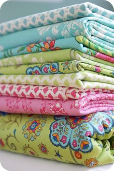 fabric = summer house by lily ashbury for moda.  Love it!