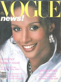 Beverly Johnson  American Vogue  January 1981
