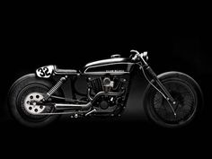 """motographite: HARLEY DAVIDSON SPORTSTER """"CLUB BLACK #02"""" by WRENCHMONKEES"""