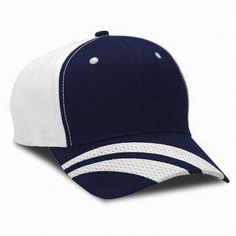 Baseball Cap, OEM Orders are Welcome, with Brass Buckle and Print