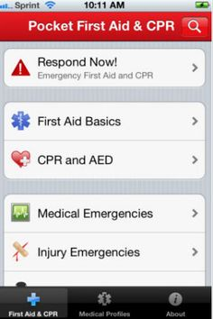 5 apps every mom needs-Pocket First Aid and CPR