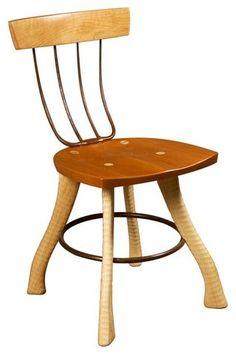 Pitchfork chair.