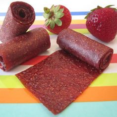 fruit roll ups, kid recipes, healthy snacks, toddler meals, strawberri fruit, homemade snacks, toddler food, healthy recipes, fruit leather
