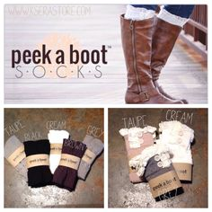 boots socks for fall <3