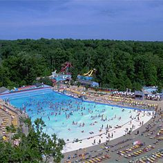 Wave pool at Water Country USA in Williamsburg, Virginia