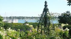House of Seven Gables, Salem MA - Beautiful gardens over looking the water