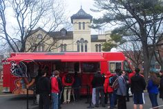 The Knight Wagon food truck - medieval meal - Rutgers
